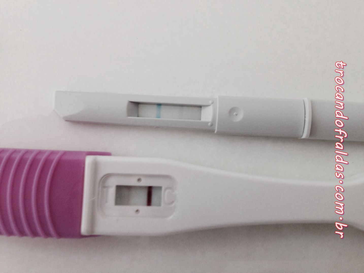 Positive pregnancy tests – a photo gallery